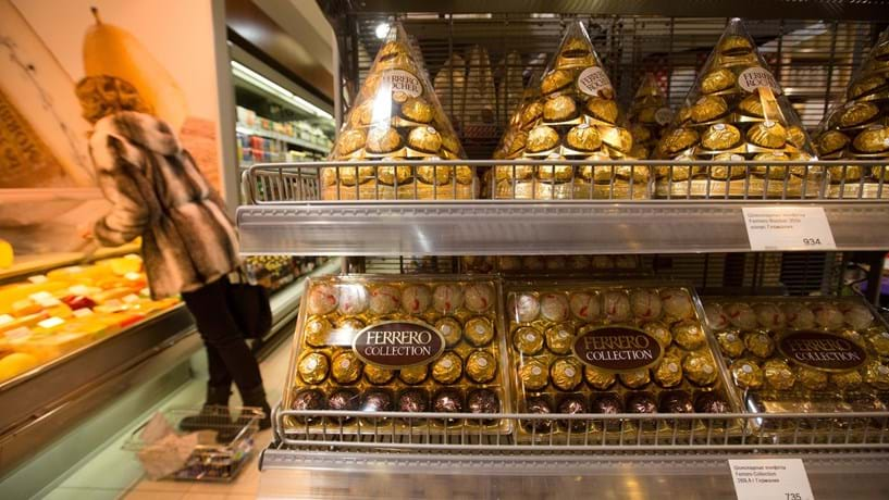 Dona da Nutella compra unidade da Nestlé nos EUA