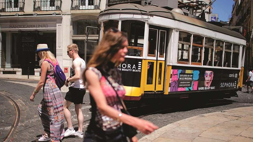 Turismo brasileiro em Portugal cresceu 12% em novembro