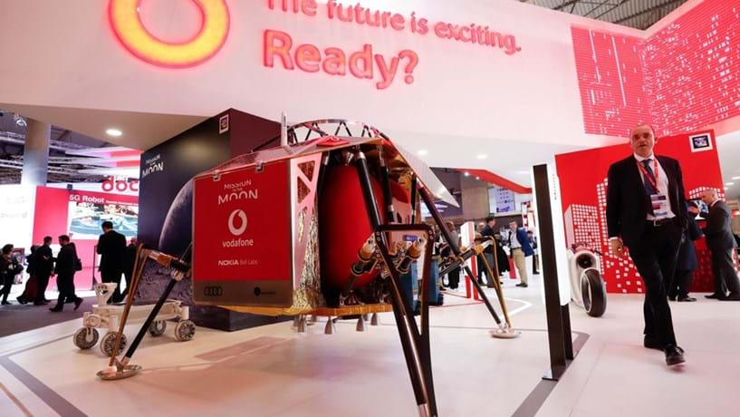 Nokia e Vodafone têm planos para colocar 4G na Lua