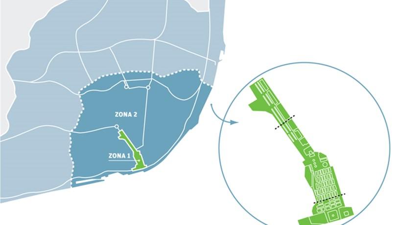 mapa de circulação em lisboa Mapa: O seu carro pode entrar no centro de Lisboa?   Automóvel  mapa de circulação em lisboa