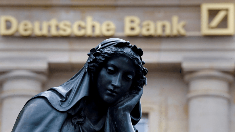 Deutsche Bank considera corte de 20% no valor do bónus anual